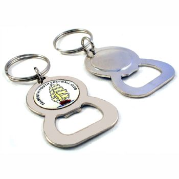 Keyring Blank Bottle Opener 25.4mm and printed dome